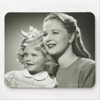 Mother and Daughter Mouse Pad