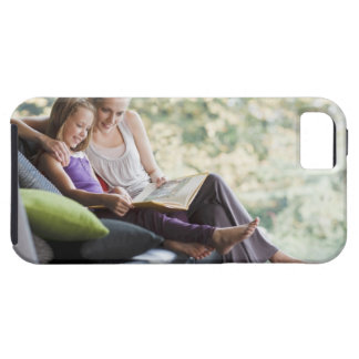 Mother and daughter reading storybook tough iPhone 5 case
