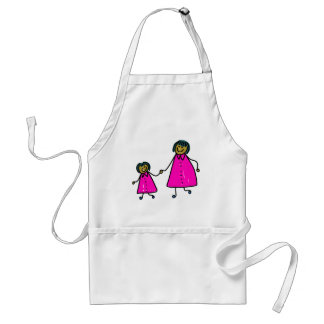 Mother And Daughter Standard Apron