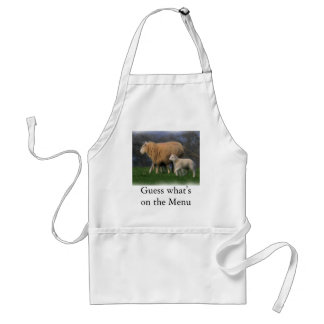 Mother and Lamb Standard Apron
