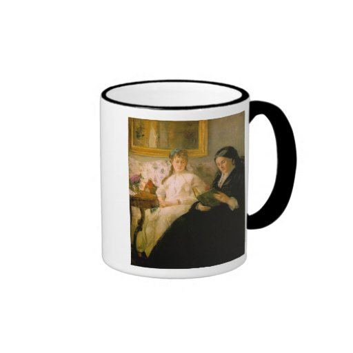 Mother and Sister of the Artist Reading Mug