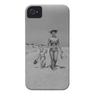 Mother and Son iPhone 4 Covers