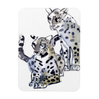Mother and Son Rectangular Photo Magnet