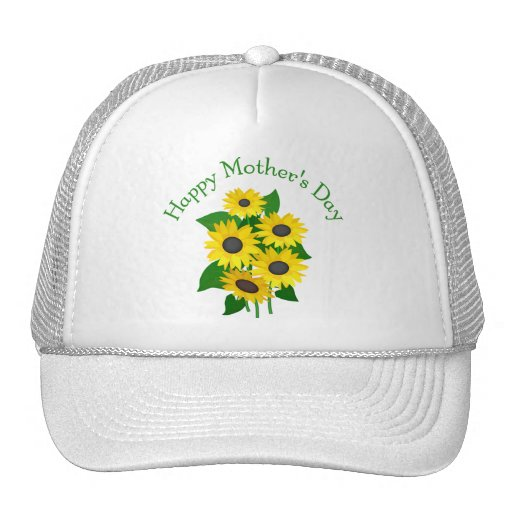 Mother's Day Sunflowers Trucker Hat