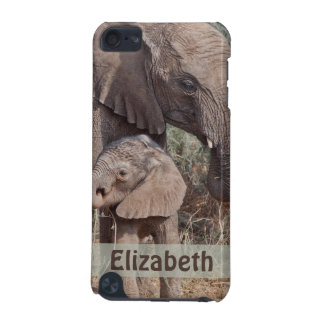 Mother Baby African Elephant iPod Touch (5th Generation) Cover