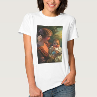 Mother & Baby Mother's Day Card Tshirt