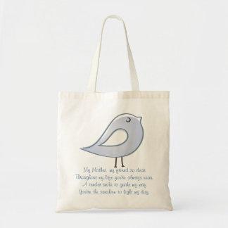 Mother Bird Canvas Bags