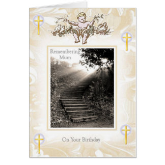 Mother Birthday - Heaven Stairway Card