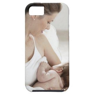 Mother breastfeeding baby 2 iPhone 5 case