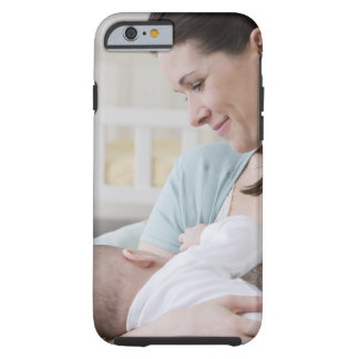 Mother breastfeeding baby tough iPhone 6 case