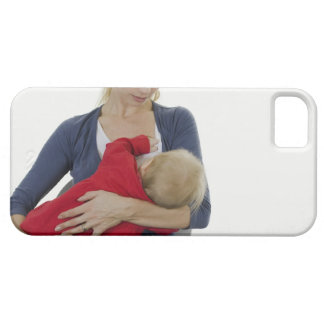 Mother breastfeeding her baby. iPhone 5 case