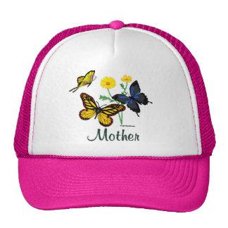Mother Butterflies Mesh Hats