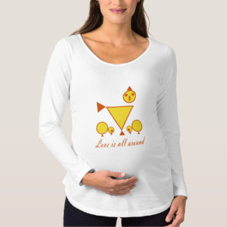 Mother Chick Maternity Long Sleeve T-Shirt HQH