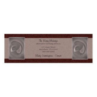 Mother & Child Pack Of Skinny Business Cards