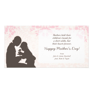 Mother Child Moment Greetings Photo Greeting Card