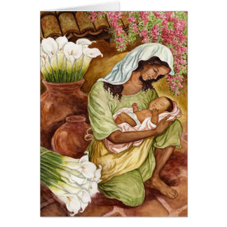 MOTHER & CHILD WITH CALLAS 1.8MB NOTE CARD