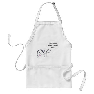 Mother Cow, Consider plant based milk, aprons