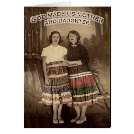 Mother-Daughter Card