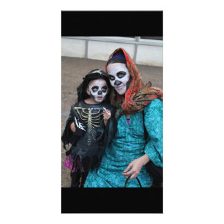 Mother Daughter Day of the Dead Photo Card