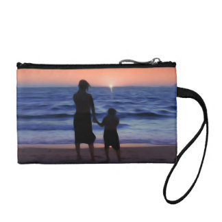Mother Daughter Sunset Coin Purses