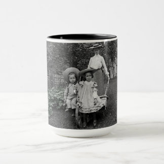 Mother Daughters 1890 Heirloom Gardening Garden Mug