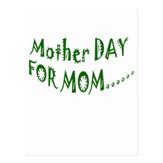 Mother Day For Mom beHappy together Post Card