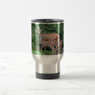 Mother Deer and Fawns Photo Mugs