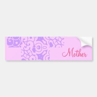 Mother Designer Name Bumper Sticker