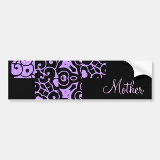 Mother Designer Name I Bumper Sticker