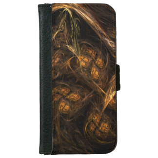Mother Earth Abstract Art iPhone 6 Wallet Case