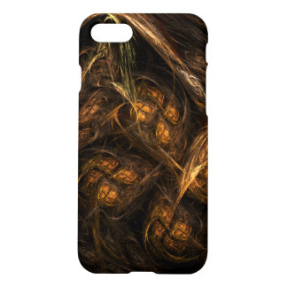 Mother Earth Abstract Art Matte iPhone 8/7 Case