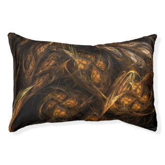Mother Earth Abstract Art Pet Bed