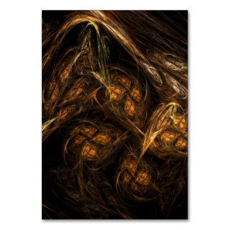 Mother Earth Abstract Art Table Card