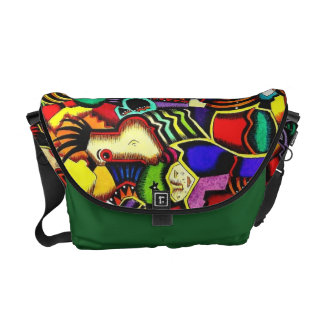"""Mother Earth and the Blind Gardener"" Messenger Messenger Bag"