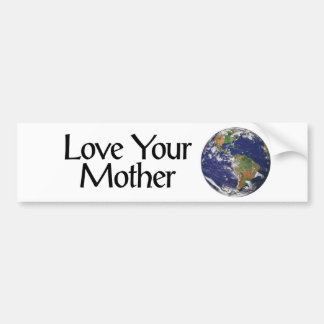 Mother Earth Bumper Sticker