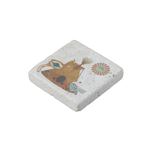 Mother Earth Stone Magnet