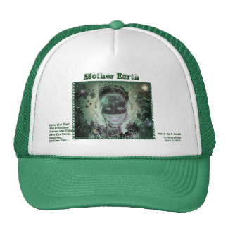 Mother Earth Hat With Words