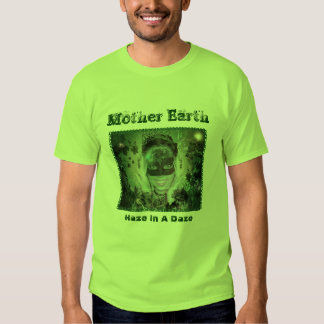 Mother Earth Lime Mens Tshirts