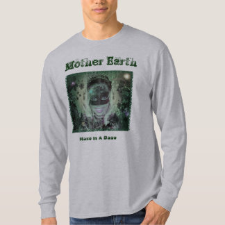 Mother Earth Stone Green Mens T Shirts