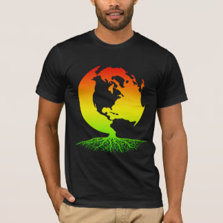 Mother Earth with Rasta Roots T-Shirt