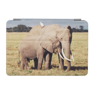 Mother elephant with young iPad mini cover