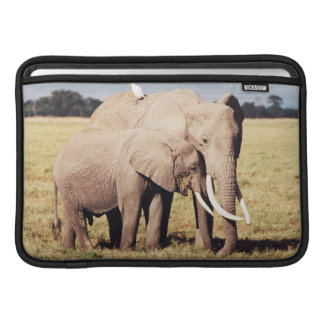 Mother elephant with young sleeve for MacBook air