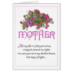 Mother for Mothers Day ...All My Life... Cards