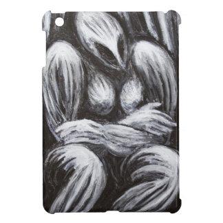 Mother Goddess (Black and white surrealism ) iPad Mini Cover