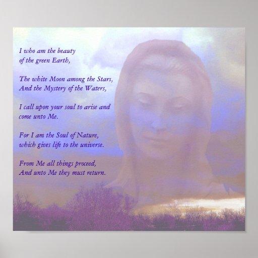 Mother Goddess Poster