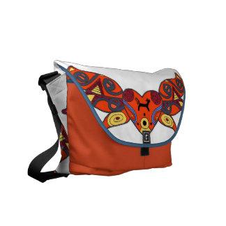 Mother Goddess Ukrainian Folk Art Messenger Bags