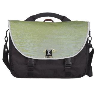 Mother Goose and her Babies Laptop Shoulder Bag