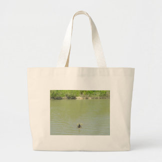 Mother Goose and her Babies Jumbo Tote Bag