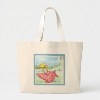 Mother Goose_BlueFrame Canvas Bags