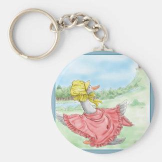 Mother Goose_BlueFrame Key Ring